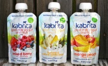 Kabrita goat milk yogurt and fruit