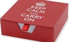 Keep Calm and Carry On Stationary (Custom)