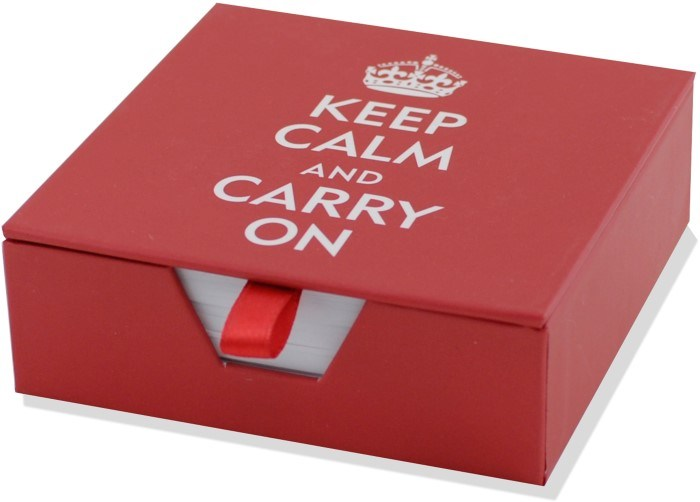 Keep Calm and Carry On Stationary (Custom)