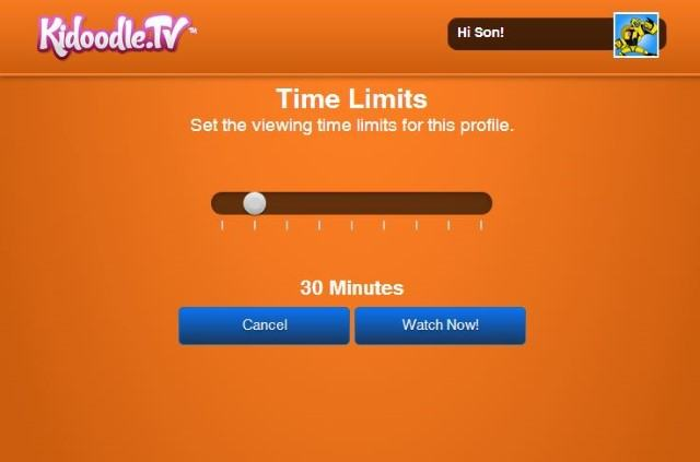 Kidoodle Time Limit