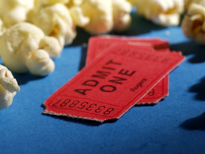Movie Tickets 10 things to do with kids halloween