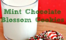 Mint Chocolate Blossom Cookies SM