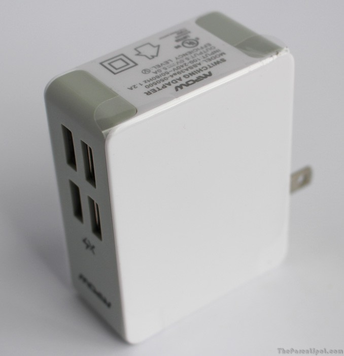 Mpow 25W/5A 4-Port wall charger