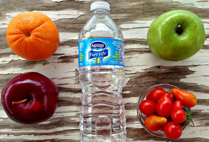 Nestle Pure Life Water with Snacks