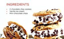 Netflix chocolate chip ice cream sandwiches