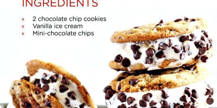 Netflix chocolate chip ice cream sandwiches
