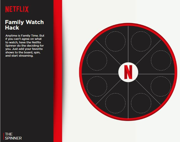 Netflix Family Spinner 1 of 2