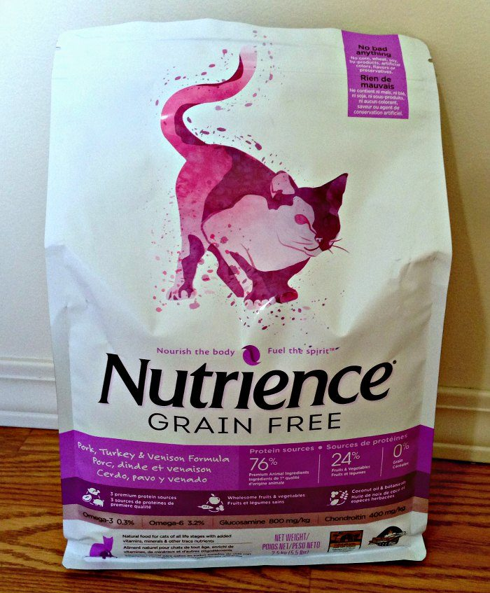Nutrience Grain Free Pork Turkey and Venison for Cats