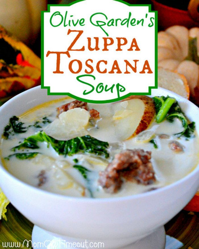 Olive Garden Zuppa Toscana Soup by Mom on a Timeout
