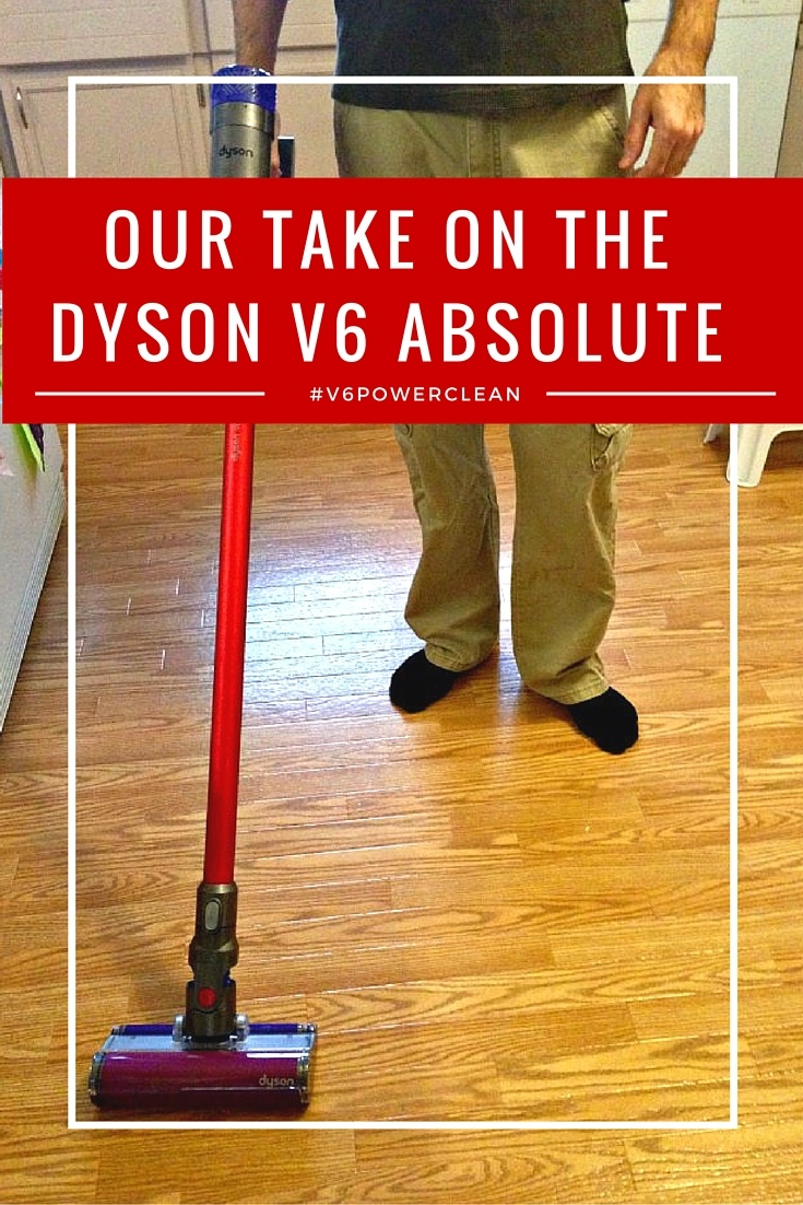 Our Take on the New Dyson V6 Absolute Vacuum
