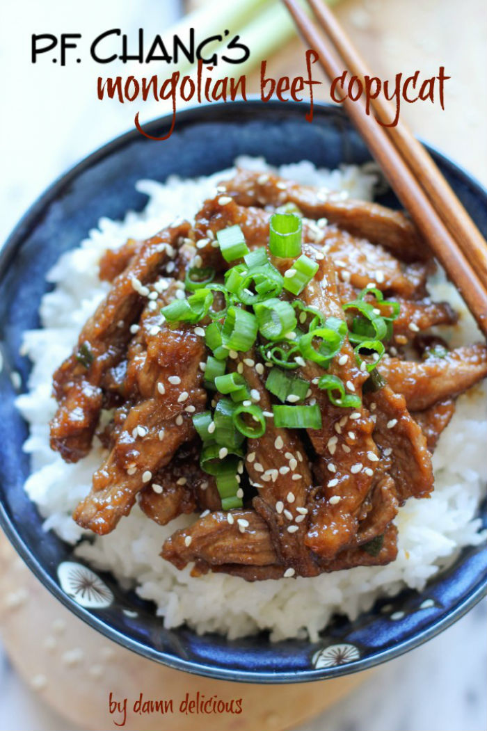 PF Chang's Mongolian Beef Copycat Recipe by Damn Delicious