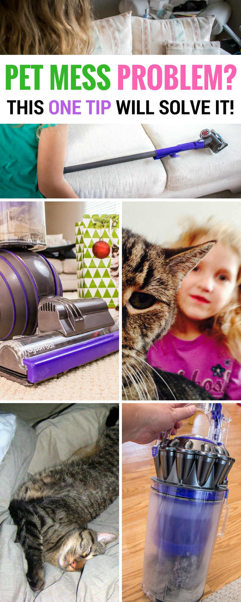 The secret to a pet hair free home is easier than you think | pet fur cleaning | pet fur removal