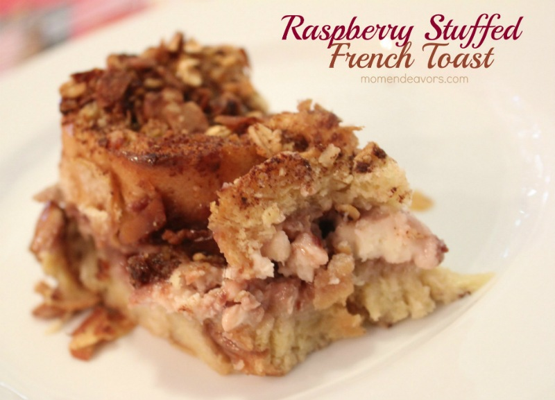 Raspberry Stuffed French Toast by Mom Endeavors