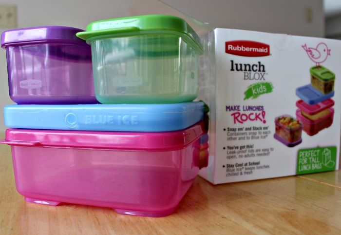 Rubbermaid LunchBlox kit with package