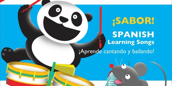 Sabor Spanish Learning Songs by Whistlefritz