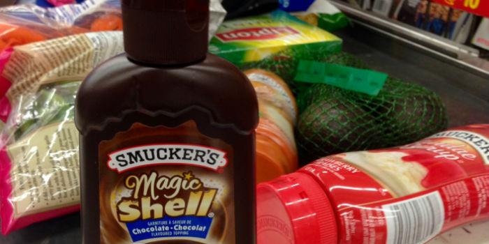 Smuckers Magic Shell Walmart Checkout
