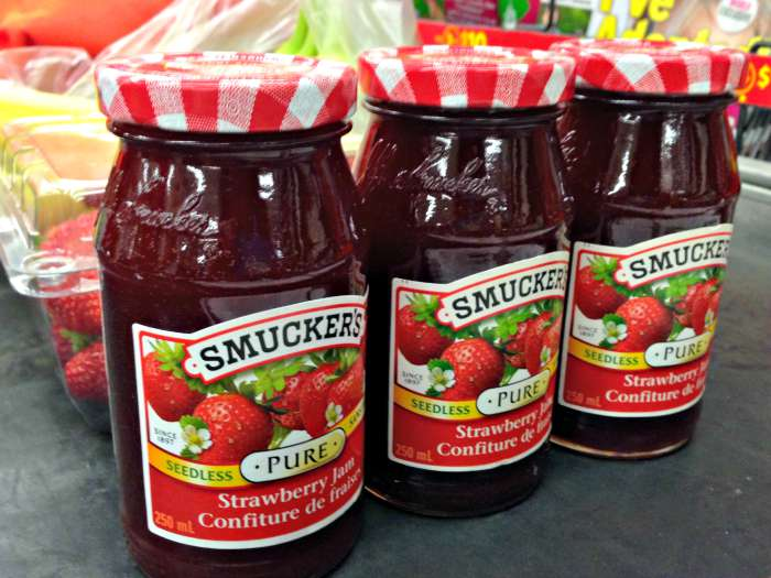 Smuckers Snackation Strawberry Jam at Checkout at Walmart