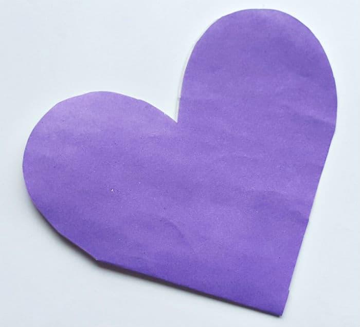 Step 6 folded heart