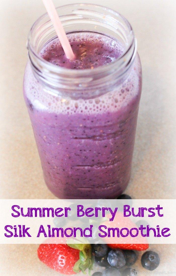 Summer Berry Burst Silk Almond Smoothie