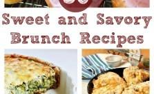 Sweet & Savory Brunch Recipes