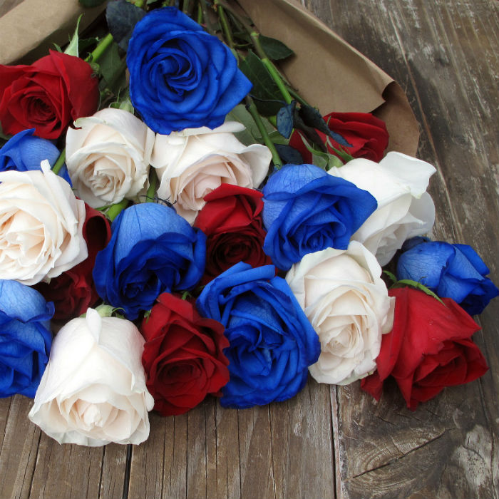 The Bouq Fourth of July Bouquet
