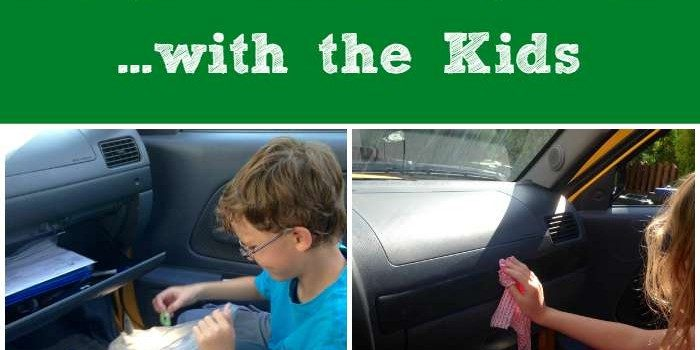 The Quick and Easy Way to Organize & Clean Your Car with the Kids SM
