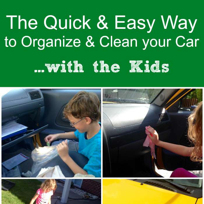 The Quick Easy Way To Organize Clean Your Car With The