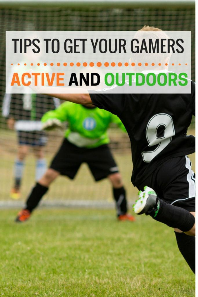 Tips to Get Your Gamers Active and Outdoors | Exercise tips for kids | Tips for getting your inactive kid to exercise