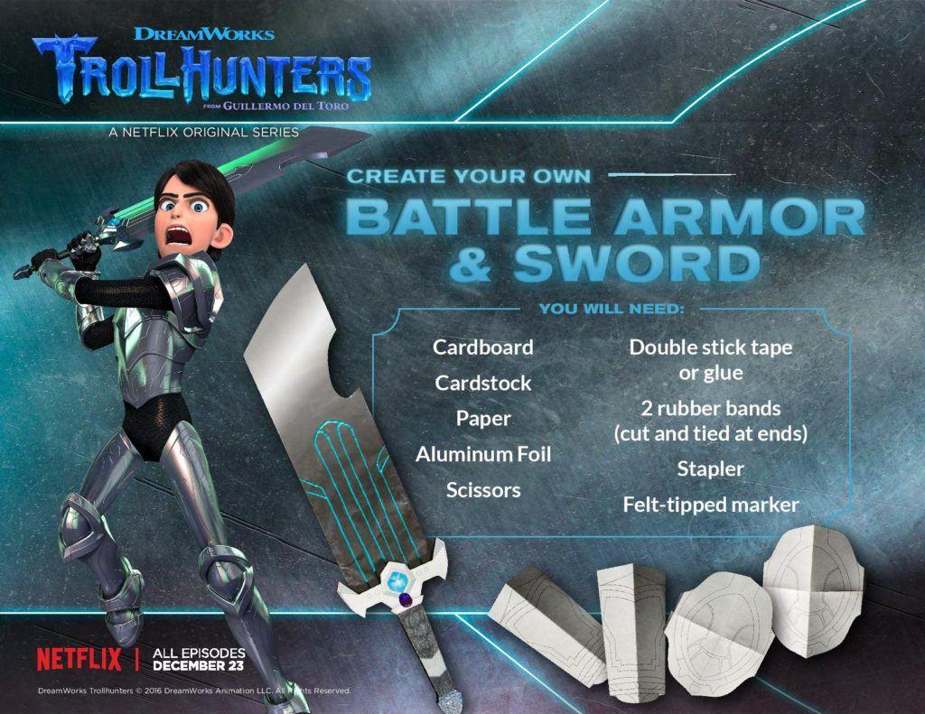 trollhunters DIY battlearmor