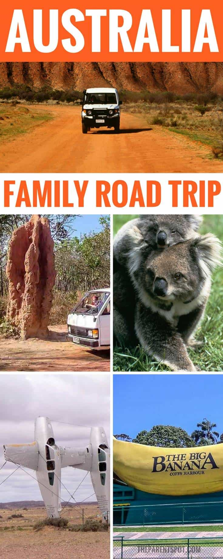 Visit all the Big Things in Australia with the kids on a family road trip!