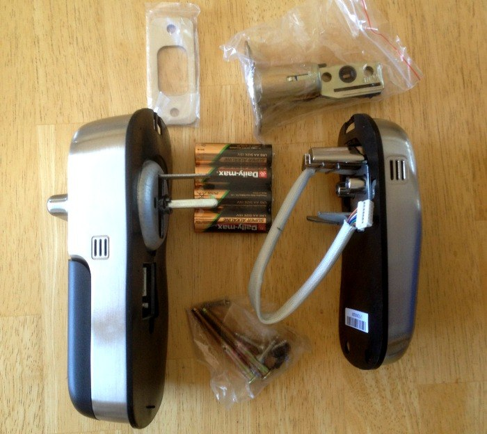 Yale Deadbolt Pieces in Package