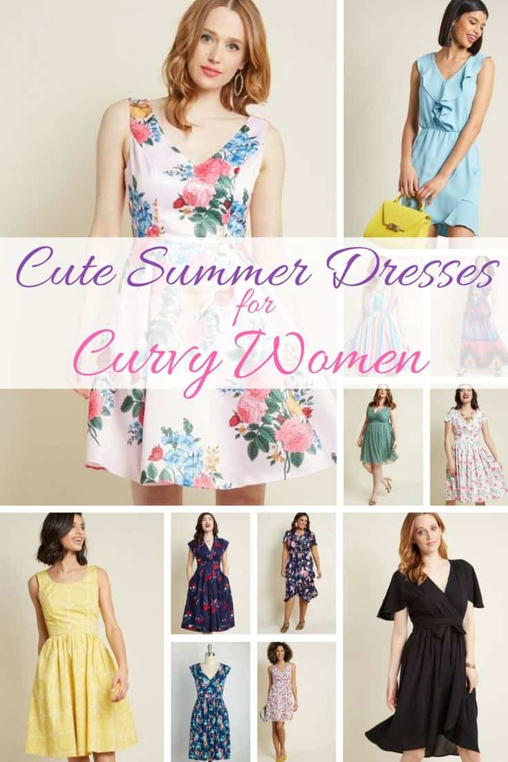 We love these cute summer dresses for curvy women! There's something here if you're looking for a summer dress for a big bust, or just something that's pretty and as fresh as spring.