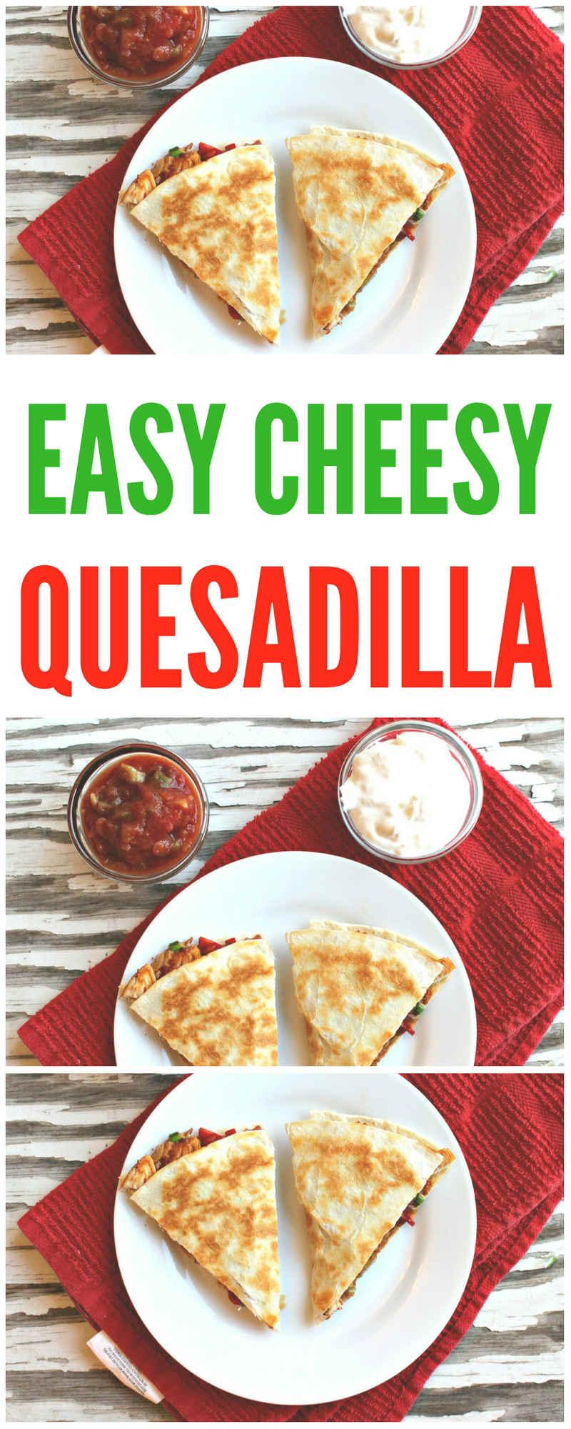 easy cheesy veggie quesadilla with black beans | | vegetarian quesadilla | campbells soup quesadilla | homemade | vegetables | queso | tofu quesadilla