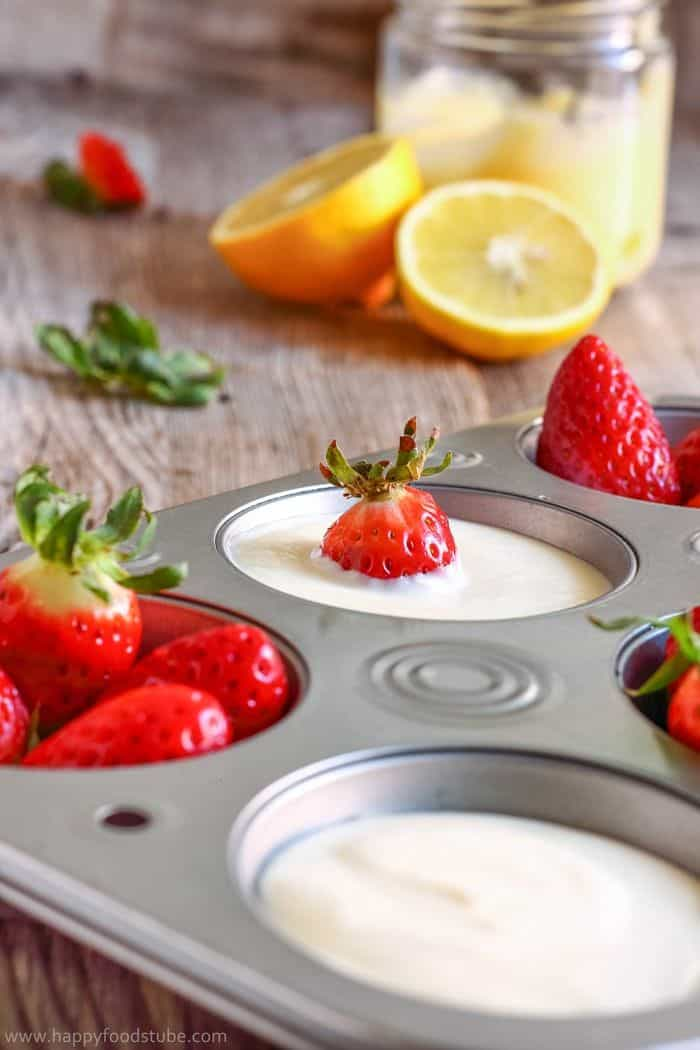 easy lemon curd dip