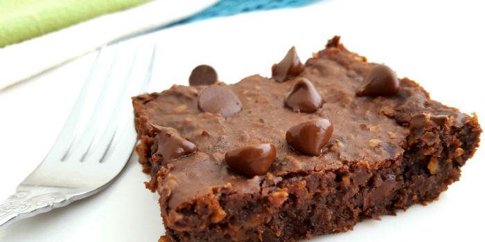 fudgy black bean brownie vegan and gluten free