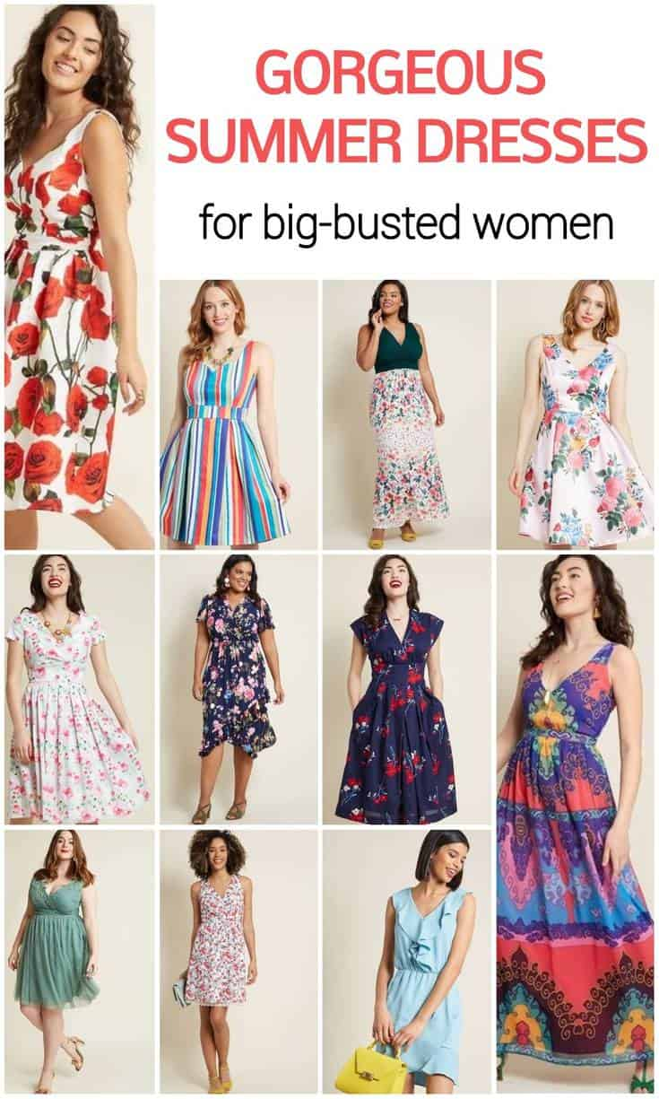 gorgeous summer dresses for big busted women_result