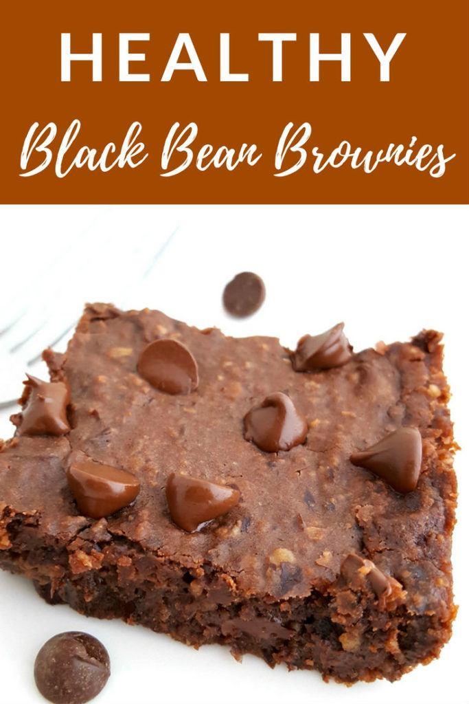 healthy black bean brownies vegan gluten free easy