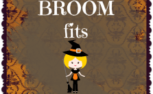 Free Halloween Printable If The Broom Fits