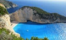 sea bay waterfront beach corfu greece Pxaby