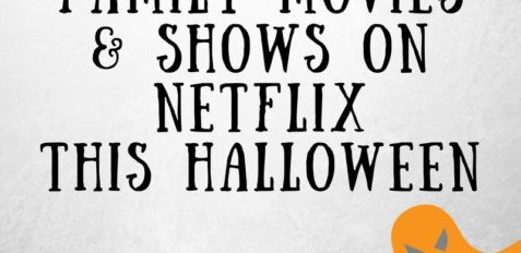 the best family movies and shows on Netflix this Halloween