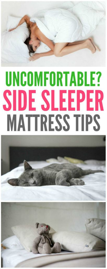 tips for choosing a mattress for a side sleeper How to choose a mattress for a side sleeper. Our expert gives us the best tips for side sleepers, including whether to use memory foam, or if a hard, soft, or medium mattress is best | side sleeper tips